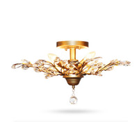 Wholesale free style meter - Modern Crystal Ceiling Light Fixtures for Bedroom Kitchen Living Room Crystal Branches Style 110v 220v free shipping