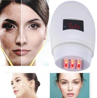 Wholesale New Invention Led - 2018 new inventions spa equipment beauty skin dropshipping collagen led light therapy radio frequency wrinkle remover machine