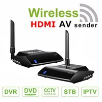 Wholesale wireless audio video transmitters resale online - HDMI AV Sender TV Wireless Audio Stereo Video Transmitter Receiver PAT GHz With IR Remote M Adapter Extend