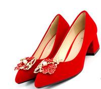 Kaufen Sie Im Grosshandel Hochzeit Schuhe 5cm Ferse 2019 Zum Verkauf