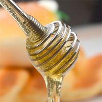 ingrosso v bastoni-Stirring Rod Stainless Steel Commestibile Originalità Honey Spoon Scoop Stick Coffee Treater Rabbler Anticorrosione Utensili da cucina 2yd V