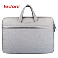 женская сумка для ноутбука оптовых-LEDANI  Waterproof Crushproof 14 inch Notebook Computer Laptop Bag for Men Women Briefcase Shoulder Messenger Bag Computer