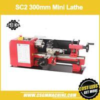 mini motor diy al por mayor-SC2 550W mini Torno / 300 * 180mm Torno DIY / SIEG sin escobillas 500W DC Motor / metal torno / máquina de bricolaje
