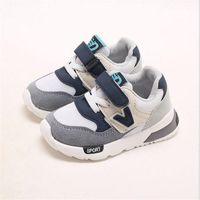 sapatos rígidos para bebé venda por atacado-Crianças respirável tênis primavera meninos esportes running shoes 1-4 anos de idade meninas bebê casual shoes crianças fundo macio sapatos