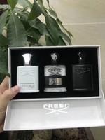 bouteilles de parfum vert achat en gros de-Nouveau parfum Creed aventus Green 18ss parfum de 30 ml 3 flacons de longue durée, de haute qualité et parfumée, et livraison gratuite