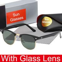 bisiklet güneş gözlüğü markaları toptan satış-Erkekler ve Kadınlar için popüler Cam Lens Güneş Gözlüğü Açık Spor Bisiklet Cam sürüş Güneş gözlükleri Marka Tasarımcısı Güneş Gözlüğü Kaliteli