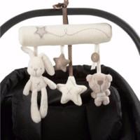 nuevos cochecitos de bebé de la llegada al por mayor-Nueva llegada del bebé juguetes lindo bebé móvil musical cuna cama juguete recién nacido oso de peluche rellenos sonajeros para cochecito