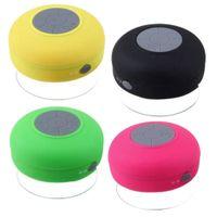 Wholesale waterproof speaker mic for sale - Group buy 2018 Bluetooth Speaker Waterproof Wireless Shower Handsfree Call Receive Mic Suction Chuck Speaker Car Speaker Portable