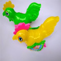 Wholesale plastic pull cords resale online - Animal toys that will be used in Yiwu s hot sale stalls small amount of large horn runner cord toys