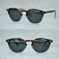 völker sonnenbrillen groihandel-Neueste Oliver Peoples Fashion Runde Sonnenbrille Frauen Markendesigner Vintage Gradient Shades Sonnenbrille Oculos De Sol Feminino