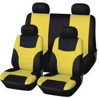 Wholesale 8pcs Set Color Universal Seat Covers Car Interior Accessories Auto Seat Covers All Seasons Use Car pass Car Seat Cover