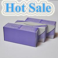 Wholesale contact lens boxes wholesale - hot sale Real 13 color fresh color 3 Tone contact lenses box 100pc =50pair Contact lens case