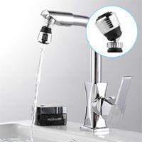 Wholesale nozzle swivel - 360 Degree Kitchen Faucet Water Bubbler Swivel Head Saving Tap Aerator Diffuser Multifunctional Nozzle Filter Mesh 1 6tf Z