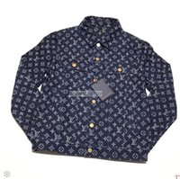 marka yeni maxi elbiseler toptan satış-2019 Gelgit yepyeni üst versiyonu yüksek kaliteli serin denim ceket erkekler ve kadınlar için maxi elbiseler kazak mens erkek tasarımcı eşofman