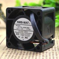 şiddetli fan toptan satış-NMB 4028 4 CM için 12 V 0.75A 1611RL-04W-B86 Yüksek Hızlı Şiddetli Sunucu Fan