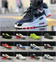 Wholesale mens suede summer breathable shoe online - 2018 Mens SneAKers ShOes classic Men and woMen RunnING ShOes Black Red White SpORts Trainer AIR Cushion Surface Breathable SpOrts ShOes