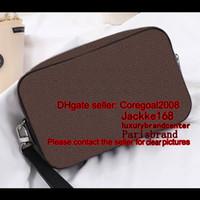 94016eae86cda KASAI Clutch Herren CASE Designer Handtasche kleine Tasche N41663 N41664  M42838 Kulturbeutel Zipper Wash Organizer BIG Geldbörse Portemonnaie  POCHETTE ...