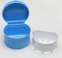 zahnböden großhandel-50 stücke Dental Box Prothese Zähne Aufbewahrungskoffer zahnschutz Container Fach Fit Für Sammlung Aufbewahrungsboxen Fit Für Sammlung