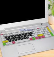 lenovo ideapad s toptan satış-15.6 inç Dizüstü Dizüstü PC Klavye Koruyucu Kapak Cilt için Lenovo ideapad 320 320 s 15 17 520 Yoga 520 s 15 320 s-15 520-15