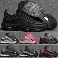 Wholesale big size shoes cheap - Big Size 40-47 Men Sport Shoes Zapatillas Hombre 97 KPU Plastic Cheap Training Shoes Fashion Wholesale Outdoor 97 Running Shoes
