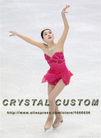 Wholesale figure ice skates for sale - Group buy Custom Figure Skating Dresses For Girls Fashion New Brand Competition Ice Skating Dress DR3348