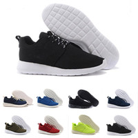 Wholesale men shoes low cut boots - 2018 new Hot sale Classical Run Running Shoes men women black boots Breathable London Olympic Sports Sneakers Trainers size 36-45