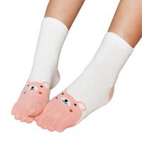 Warm Socken Jungen Fingersocken Zehensocken Toe Socks Kindersocken 1 Paar Neu