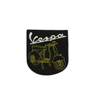 Wholesale sports articles online - Toppa Vespa Service Personalizzata Iron On Badge Patches Embroidered Applique Sewing Patch Clothes Stickers repair clothes patch