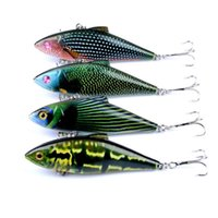 Wholesale rattle lures for sale - Group buy 4 High Quality Fishing Lure VIB Crankbaits Hard Vibes Fishing Lures Vibe Vibration Rattle Hooks for Sea Bass Trout