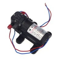 Wholesale Diaphragm High Pressure Water Pump - Car-styling rundong 12V DC Boat Accessory High Pressure Diaphragm Water Self Priming Pump td0126 dropship