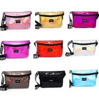 Wholesale women transparent clothing - Pink Women Waist Bag laser Beach Travel Pack Fanny Transparent handbag Fashion Girls Purse Belt Bags Outdoor Cosmetic Bags 8Style Hot