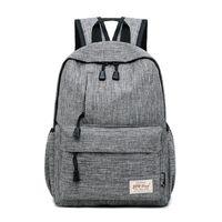 Wholesale backpacks for girls college resale online - Brand Canvas Men Women Backpack College High Middle School Bags For Teenager Boy Girls Laptop Travel Backpacks Mochila Rucksacks