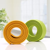Wholesale Edge Protectors For Shipping - (50PCS lot) Courier Free Shipping Baby Safety Edge Protector Cushion Thickening Protection Strip for Desk Edge 2 meter with Tape