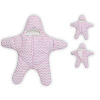 umschlag baumwolle schlafsäcke großhandel-Star Baby Schlafsäcke Neue Ankunft Baby Schlafsäcke Winter Umschlag Für Neugeborene Pelz Kinderwagen Verdicken