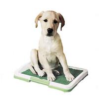 haustier training spray groihandel-Hundetrainings-Toilette für Hunde ThreeTier-Gitter mit Rasentablett für Hunde-Welpen-Katzenklo