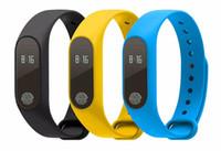 bluetooth akıllı bant toptan satış-M2 Akıllı Bilezik akıllı saat Kalp Hızı Monitörü bluetooth Android iOS için Smartband Sağlık Spor Akıllı Bant aktivite izci DHL