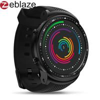 спорт 3g оптовых-New Zeblaze Thor PRO 3G GPS Smartwatch Android Smart Phone Watch Men Fashion Sports Bracelet Camera SIM Dial Heart Rate Monitor
