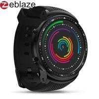 ingrosso orologio astuto del telefono 3g-Nuovo Zeblaze Thor PRO 3G Bracciale Sport GPS Smartwatch Android Smart Phone della vigilanza degli uomini fotocamera Fashion SIM Dial Heart Rate Monitor