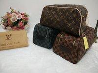 paquet sac de lavage achat en gros de-100% de haute qualité vieille fleur femmes laver sac maquillage classique paquet Cosmétique sac dessus en cuir soir paquet embrayage sac à main portefeuille / bourse