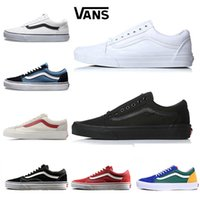 Cheap Vans Old Skool Yacht Club Men women Casual shoes Skateboard Canvas  Sports Mens trainer zapatillas Running Shoe Sneakers eur 36-44 42974301b