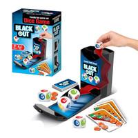 ingrosso apprendimento nero-Best Seller Intelligenza Bambini Divertimento Gioco a dadi Set Black Out Interazione evolutiva Giocattoli da tavolo Apprendimento Istruzione Toy 12 5ac W