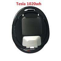 tekerlek dengesi toptan satış-GOTWAY Teslas 16 inç Elektrik unicycle Denge araba tek bir tekerlekli scooter 2000 W motor ömrü 60-80km, hız 55km / h +