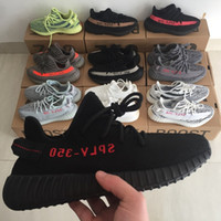 Wholesale free online - Free Shipping 350 V2 bred running shoes 2018 hot sales Online wholesale price store size 36-46