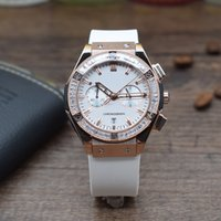 Wholesale Running Calendar - Luxury brands Sports Ladies rubber belt Watches five pin run seconds calendar Steel shell double snap Quartz watch 582888 hot sale