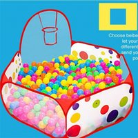Wholesale baby ball tent for sale - The Ocean Ball Tent Indoor For Baby Small Sized Foldable Toys Tents Basketball Pool Kids bb W
