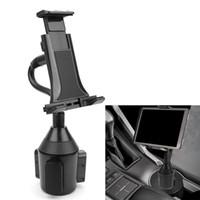 ipad mini carro montagens venda por atacado-Montagem de suporte de copo de carro ajustável para 7