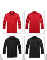 ingrosso grembiule in generale-Grembiule da uomo Camicia Grembiule da hotel Abbigliamento generale uniforme Tasca a doppio petto
