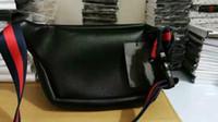 schwarze ledertaschen für männer großhandel-NEU PU Männer Schulter TOP Luxus Tasche Designer Cross Body Satchel Frauen Handtasche kleine Tasche schwarz rot Leder Taille Taschen Graffiti-Paket