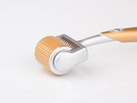 mikro iğneli cilt makarası 192 toptan satış-Yeni 192 Pins ZGTS Derma Titanyum Mikro İğneli Anti-Aging Akne Kırışıklıkları Cilt Bakımı Araçları Microneedle Rulo