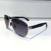 Wholesale green carbon fiber - Luxury 2229 Sunglasses For Men Design Fashion Wrap Sunglass Light and Comfortable Pilot Frame Carbon Fiber Legs Summer Style Top Quality